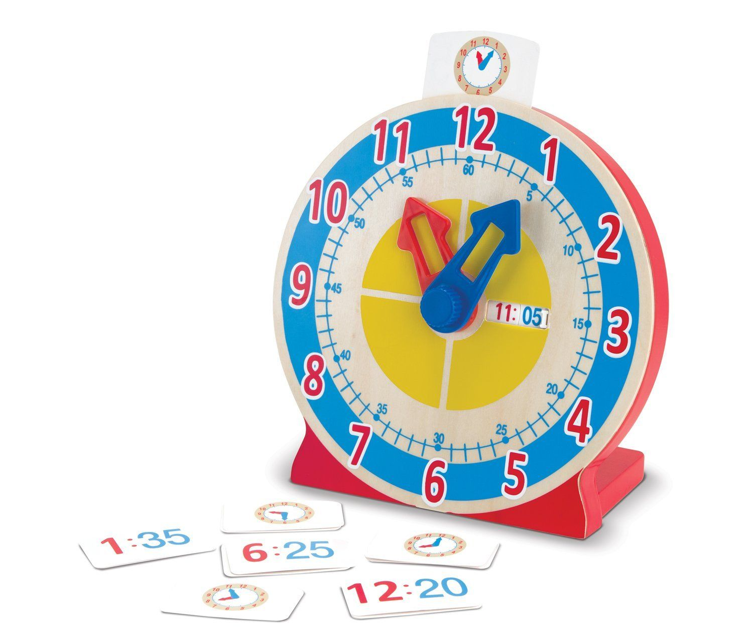 Special Clock Special Needs Clock Melissa And Doug Turn And Tell Wooden Clock